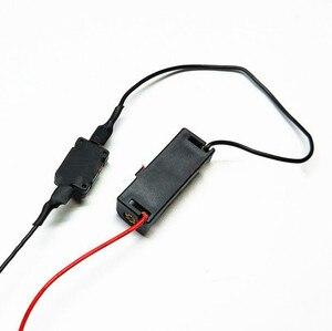 Image 2 - 1 pcs 12 V 23A סוללה מחזיק 12 V תיבת סוללה עם מתג עבור LED אור רצועת פעמון כוח תיבה
