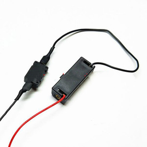 Image 2 - 1pcs 12V 23A Battery Holder 12V battery box with switch for LED light strip doorbell power box