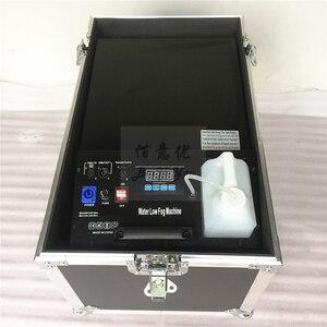 Image 4 - 1 шт./лот, бесплатная доставка, небольшая противотуманная машина на водной базе мощностью 3000 Вт, дымовая машина с туманом и шлангом на выходе