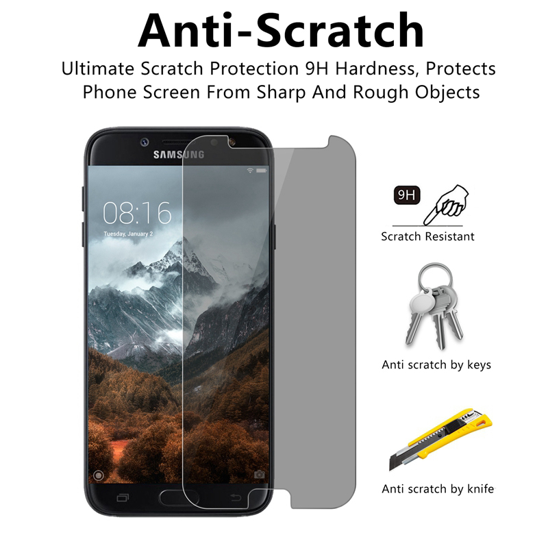 For-Samsung-Galaxy-J5-Pro-J7-Pro-J3-Pro-2017-Anti-Spy-Tempered-Glass-Front-Film