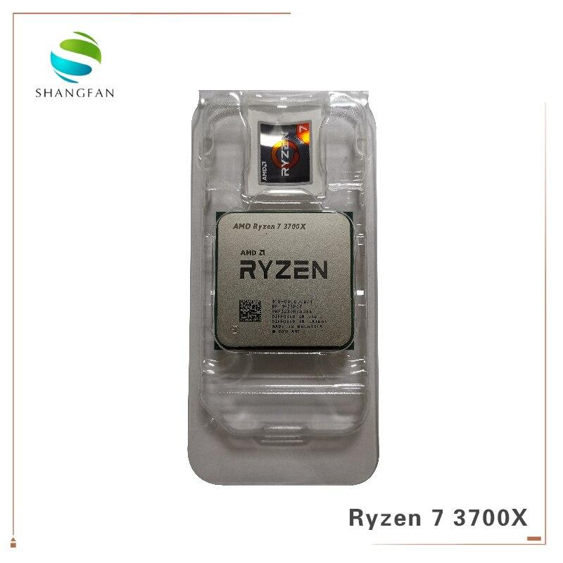 AMD Ryzen 7 3700X R7 3700X3.6 GHz 7NM L3 32 = M 100-000000071 Eight-Core AM4 Sinteen-Fio Soquete Do Processador CPU