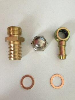Kits de instalação de alta qualidade, acessórios de cobre banjo encaixe lavadora para 0580254044 bomba de combustível