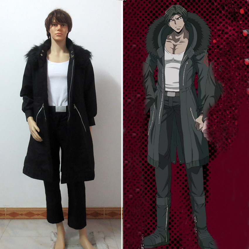 DanganRonpa Dangan Ronpa Juzo Sakakura Cosplay Costume for Halloween