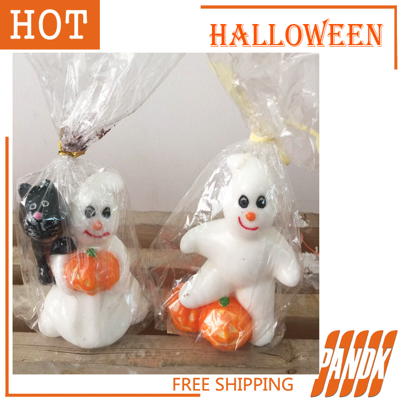 aliexpresscom buy 2pcs halloween candle halloween decorations halloween props skull candle free shipping from reliable halloween decoration suppliers on