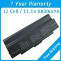 New 12cell 8800mah laptop battery VGP-BPS2A VGP-BPL2C for sony VGN-SZ33TP/B VGN-C13G/H VGN-N270E/T VGN-SZ33TP