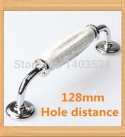 3pcs Length 152mm Hole C C 128mm Crack Pattern Ceramic Handle Kitchen Furniture Handle Cabinet Handle