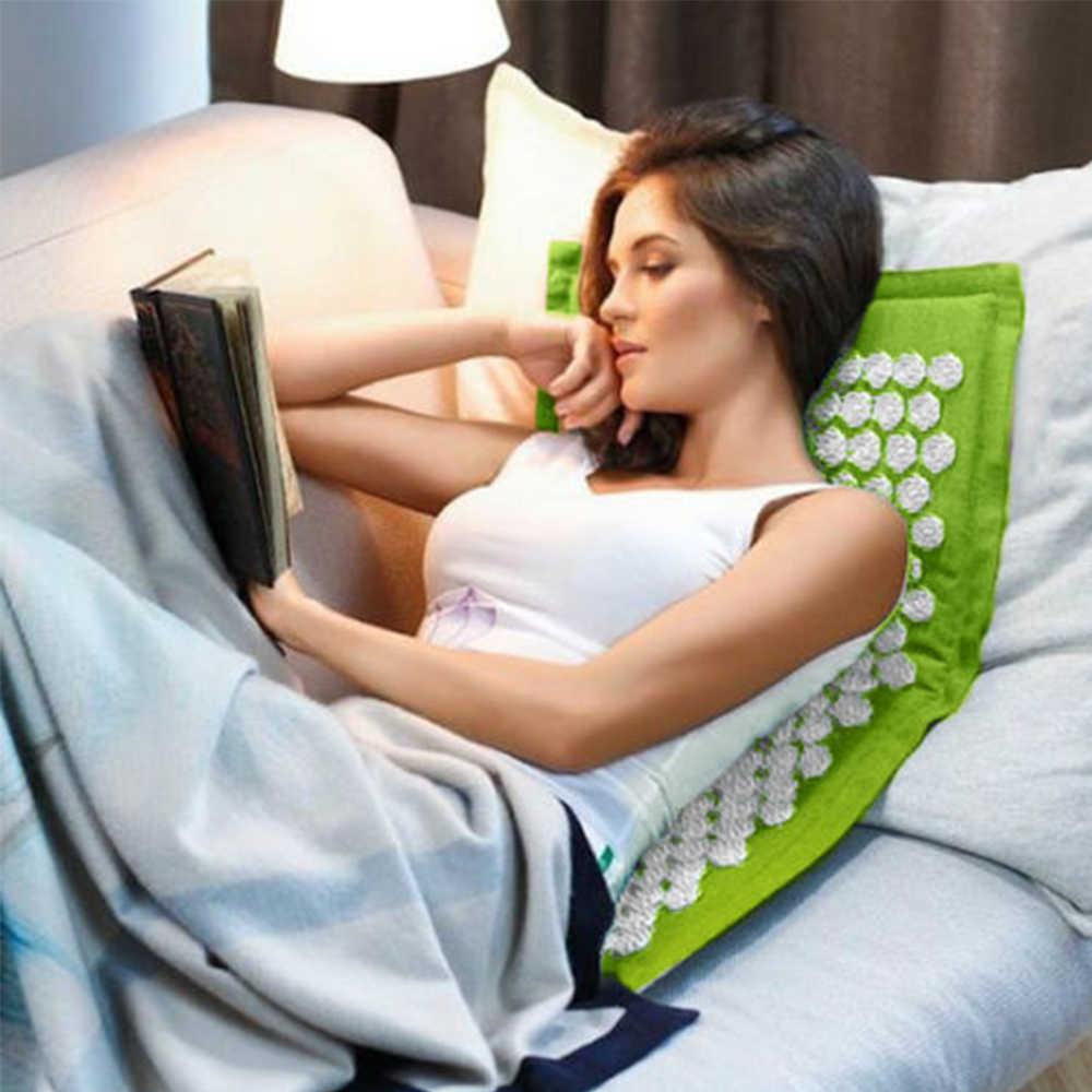 Фитнес Йога Спайк коврик Лотос акупунктурный Массажный коврик подушка кровать Пилатес Массажер для йоги Подушка снимает стресс и боль спина/нога