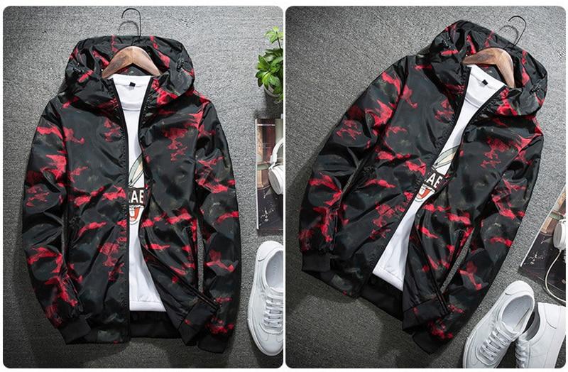 HTB126kqeTqWBKNjSZFAq6ynSpXav 2018 Spring Autumn Mens Casual Camouflage Hoodie Jacket Men Plus Size 4XL Waterproof Windbreaker Coat Male jaqueta masculina