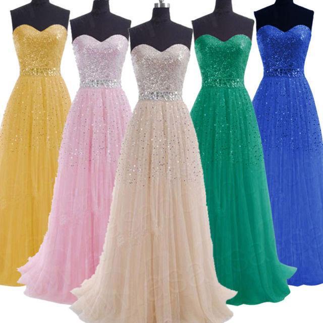 2016 Em Estoque Real Azul Royal Lantejoulas Bling Longo Moderno prom dress rhinestone sparling forml prom party dress vestido de festa