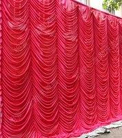 Бесплатная доставка 5,5 м x 12 м Новое поступление волна противопожарные бархатные свадебные этап фон для свадьбы/трубы и простыня /Главная Шт