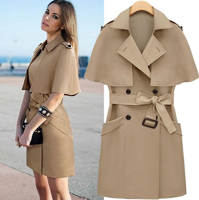 winter trench coat