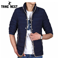 TANGNEST 2017 Winter Thick Parka Men Fashion Warm Comfortable Men Jacket Size L-4XL 4 Colors Casual Popular Jacket Men MWM1404