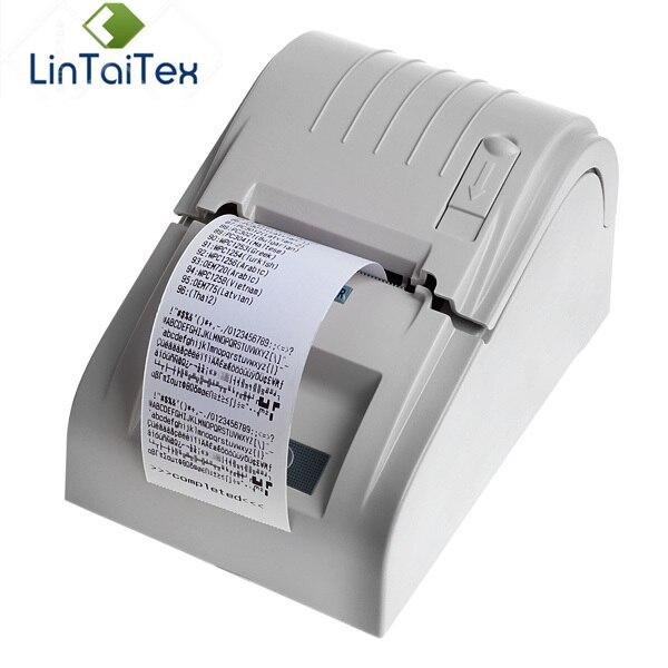 POS-5890 T Portable Mini 58mm USB imprimante à reçu thermique petite imprimante à code-barres
