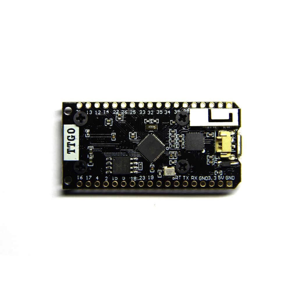 TTGO LORA32 868/915 МГц ESP32 LoRa OLED дисплей 0,96 дюйма Bluetooth WIFI ESP32 ESP-32 модуль с антенной