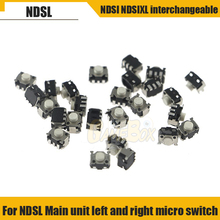 цена на For NDSL Micro Switch Game Controller REPLACEMENT PART L & R Shoulder Button For Nintendo   DS Lite NDSL & NDSI