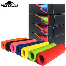 New products Lightweight antiskid super soft MTB Handlebar ultra light silicone Sponge material High Density  Cycling Grip Cover