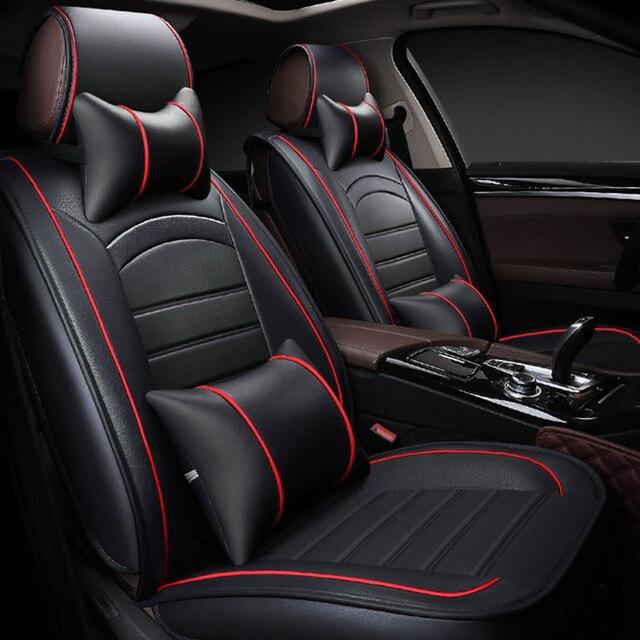 Universal car seat covers for mazda 6 gh cx-5 cx-7 cx-9 2 3 bk 6 gg 323 626 demio Auto accessories car seat protector