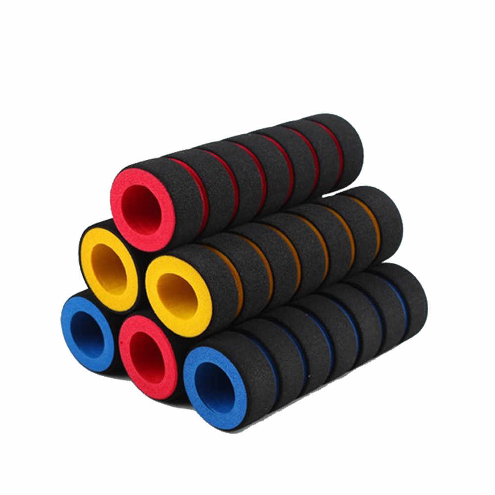 Easy installation Bicycle Grips 1pair Bike Racing Bicycle Motorcycle Handle Bar Foam Sponge Grip Cover Non-slip #ZH