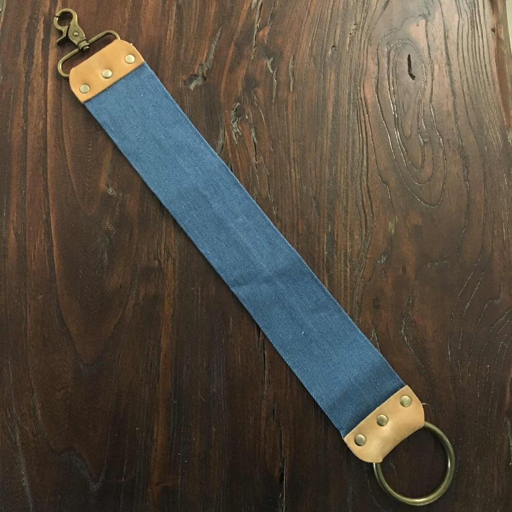 free shipping Titan wood handle  straight razor steel blade sharp already  4