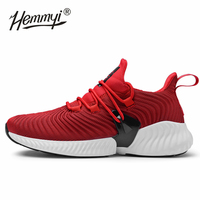 2019 High Quality Men Sneakers Lace Up Autumn New Cushioning Sport Shoes Men Black Red Gray Male Adult Running Shoes for Man