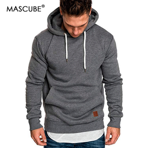 MASCUBE 2019 New Autumn Winter Fashion Color Hoody Male Larg