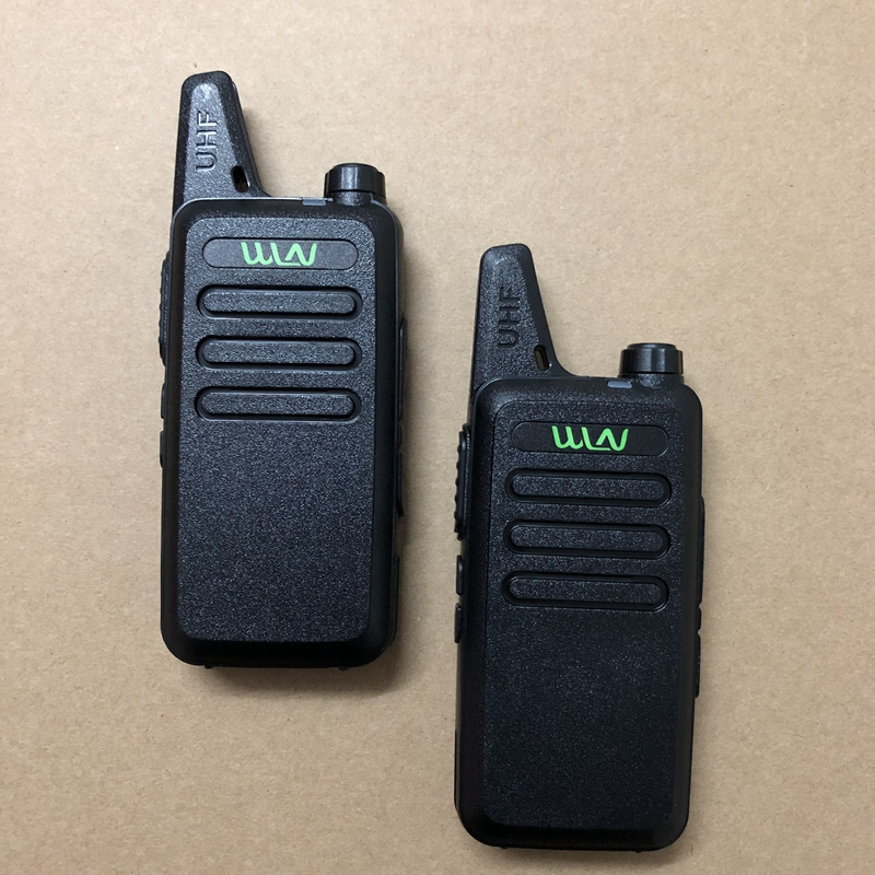 Image 2 - WLN KD C1 UHF 400 470mhz walkie talkie Antenna body integrated ham CB two way radio classic  KD C1 talk walky-in Walkie Talkie from Cellphones & Telecommunications
