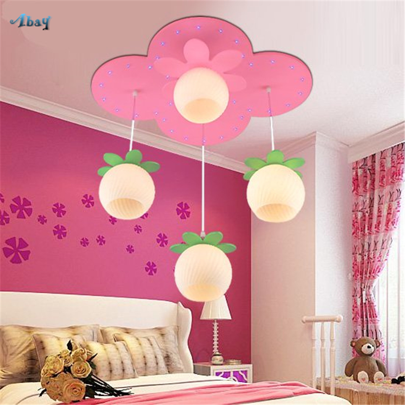 US $150.0 50% OFF|Nordic Pink Romantic Prince House Ceiling Light for  Daughter Bedroom house led ceiling lamp study restaurant Living Room  lights-in ...