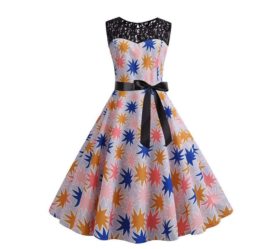 Koktejlové párty šaty jednofarebné s čipkou (10 variánt) 7