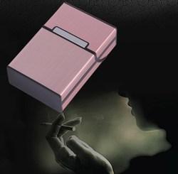 Étui à cigarettes cigare en aluminium | Porte-tabac, boîte de rangement