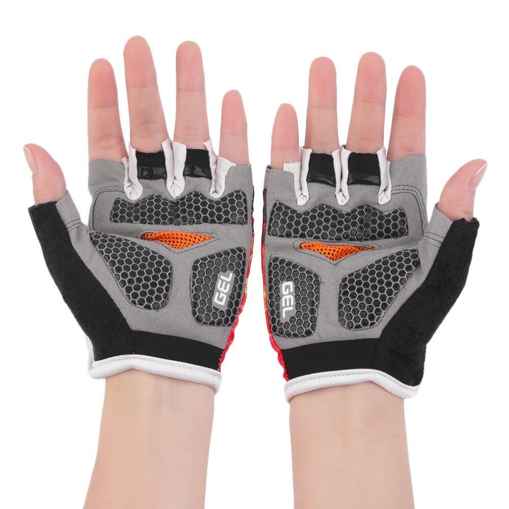 Sports font b Glove b font Half Finger font b Gloves b font Cycling Bike Short
