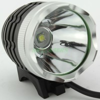 2 in 1 XM L T6 LED Bike Bicycle light + Headlight(Headlamp ) 1800LM With wire control switch +Battery Pack + Charger
