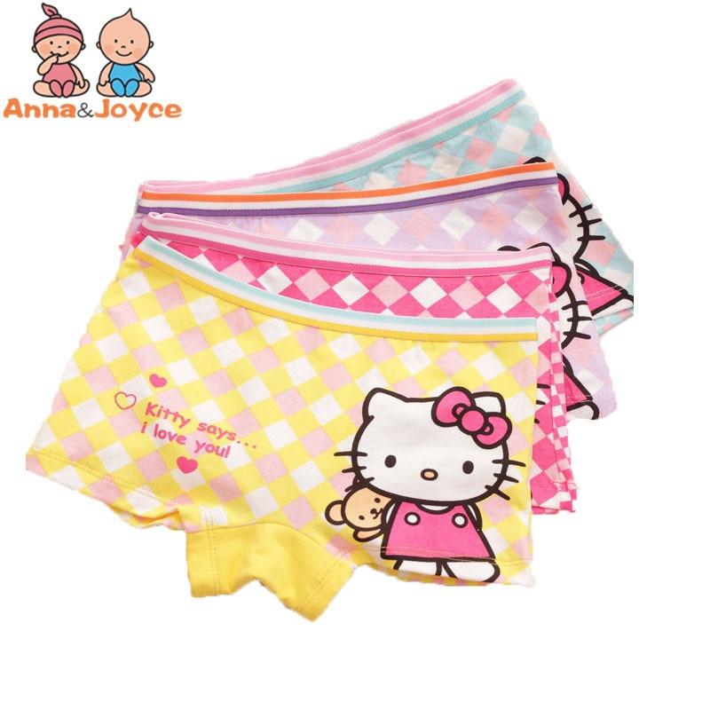 Cartoon Characters Underwear : Pcs lot children kids girls cartoon character underwear