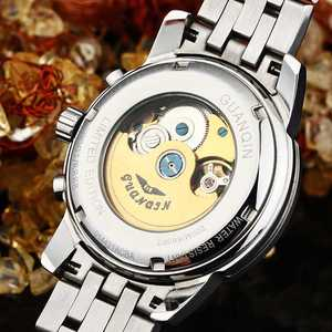 Image 4 - GUANQIN 2019 deep diving watch top brand luxury Clock Men Automatic 200m waterproof Mechanical clock men Relogio Masculino