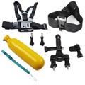 Gopro Accessories Set Harness Chest Belt Head Mount Strap Floating Bobber Go pro hero5 Hero 5 3+ 4 Sj4000 Black Edition Kit