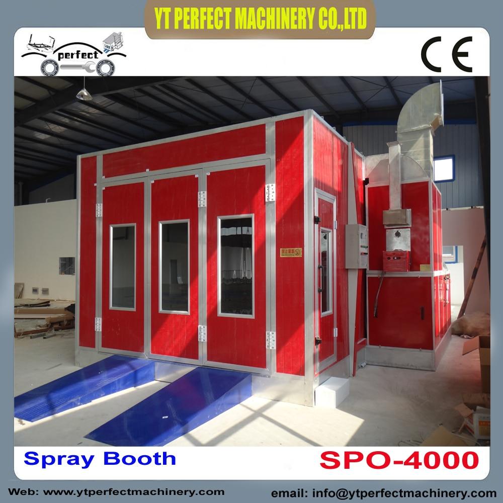 SPO 4000 bake booth portable car spray booth car spray