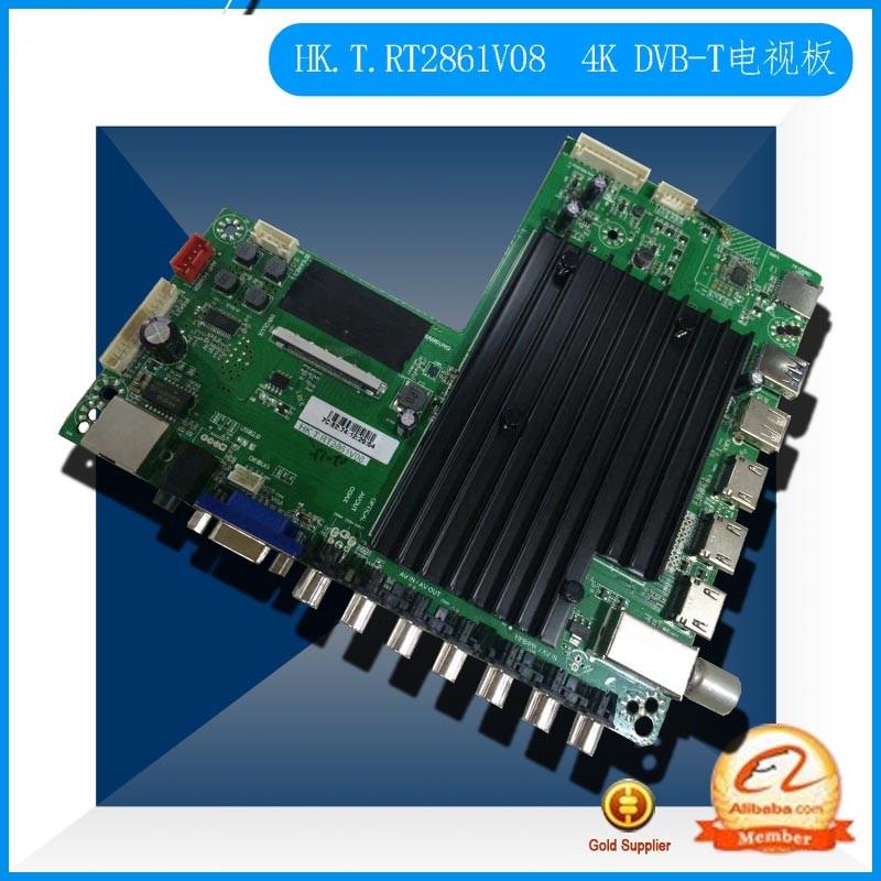 HK.T.RT2861V08 HK.T.RT2861V08 DVB T2 4K Digital Network TV