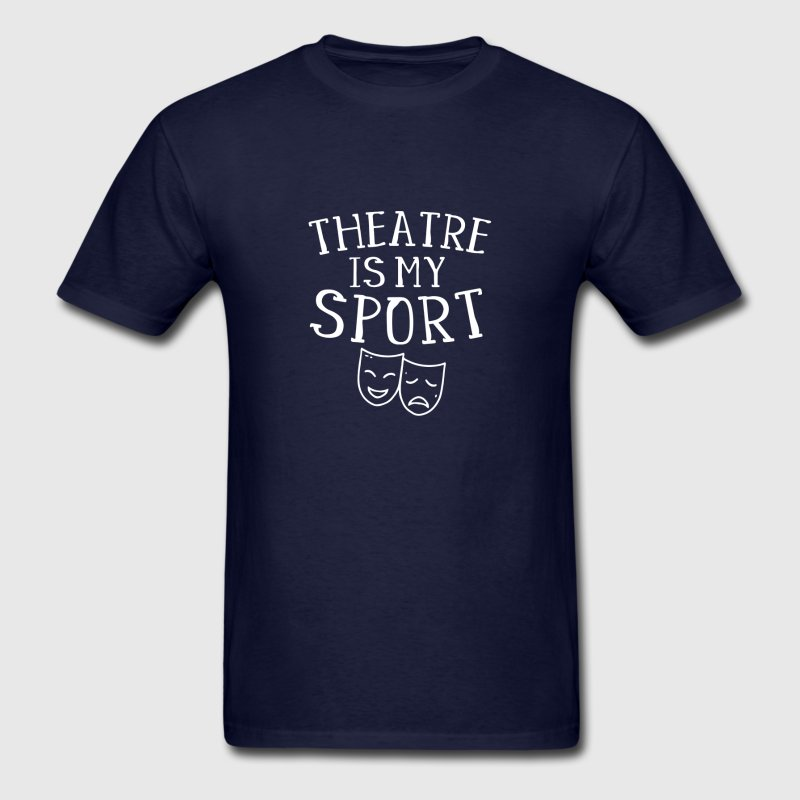 f8ca5628f50 Funny Casual Tshirt Men Slogan Theatre Is My Sporter Musical Fun Broadway Theater  T Shirt Male Loose Tee Shirt Clothes Kawaii-in T-Shirts from Men s ...