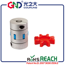 Free shipping GFC jaw coupling aluminum clutch for Coup Link 40mm shaft coupling spider shaft coupling