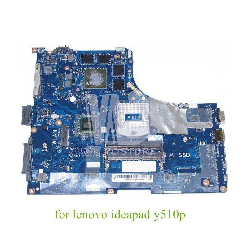 VIQY1 NM-A032 Main board For Lenovo ideapad Y510P 15.6'' laptop motherboard GeForce GT755M 2GB graphics 1920x1080 FHD NO SSD