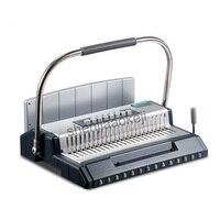 Vinculativo máquina Manual do S600 Vinculativo Máquina de papel Multifuncional full metal shell tipo pente vinculativo máquina 1 pc|Encadernadora| |  -