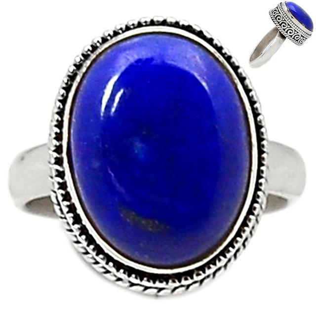Lovegem Genuine Amethyst Ring 925 Sterling Silver, Size : 8.25, AR1782