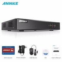 ANNKE 16CH 5in1 AHD DVR Support CVBS TVI AHD Analog IP Cameras HD P2P Cloud H