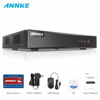 ANNKE 16CH 5in1 AHD DVR Support CVBS TVI AHD Analog IP Cameras HD P2P Cloud H