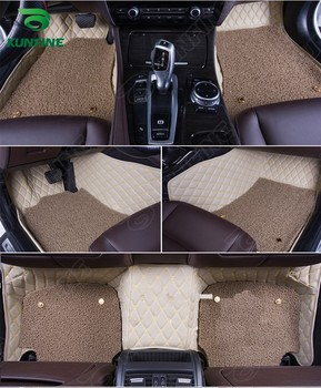 Top Quality 3D car floor mat for HYUNDAI Sonata foot mat car foot pad with Thermosol coil Pad 4 colors Left hand driver