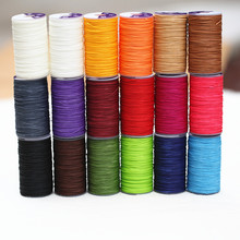 0.5mm/0.6mm 40 meters Length 150D DIY hand leather bag sewing lines hand stitching 0.8mm high quality polyester round wax line