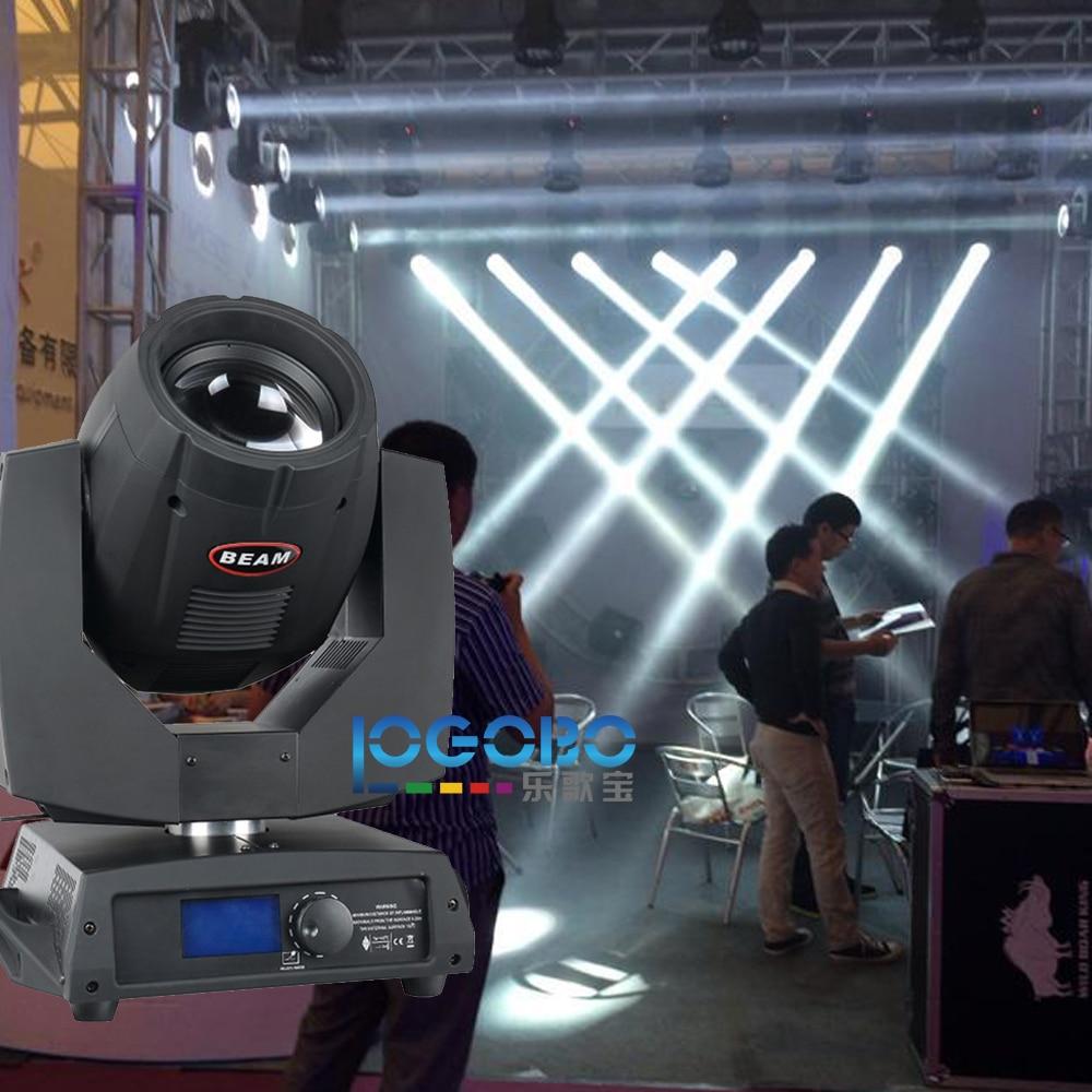 1x Flight Case + 2x Beam 200 Moving Head DMX Sharpy 5R Beam Light DMX DJ Stage Projector Disco Lights Online, Free Shipping high quality 1pcs lot sharpy beam 200w 5r moving head light beam 5r beam 200w dmx disco lights for stage dj disco nightclubs
