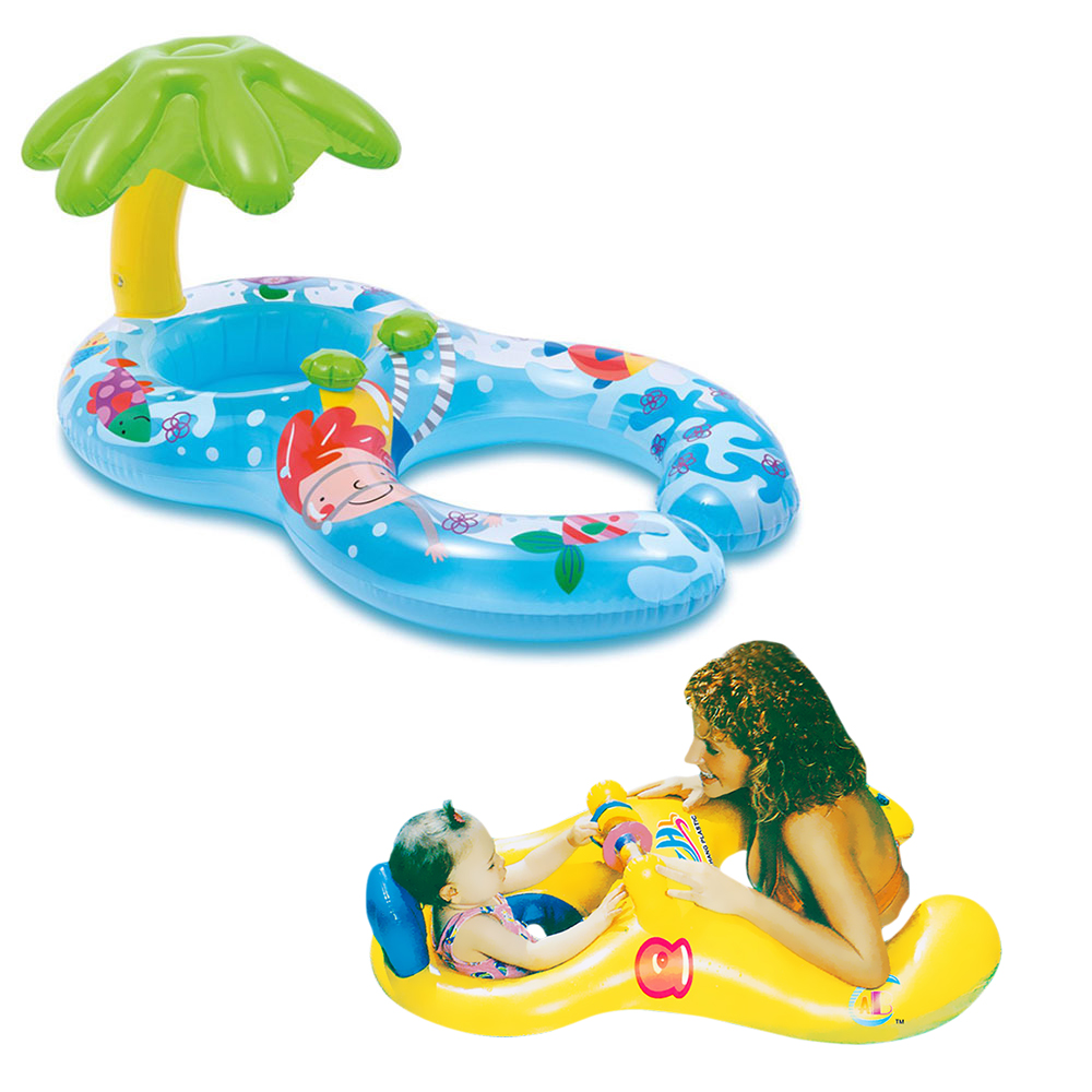 Pool Inflatable Buoy Baby Swimming Circle  Floating Children Inflatable Swimming Pool Toy For Bathtub Swim