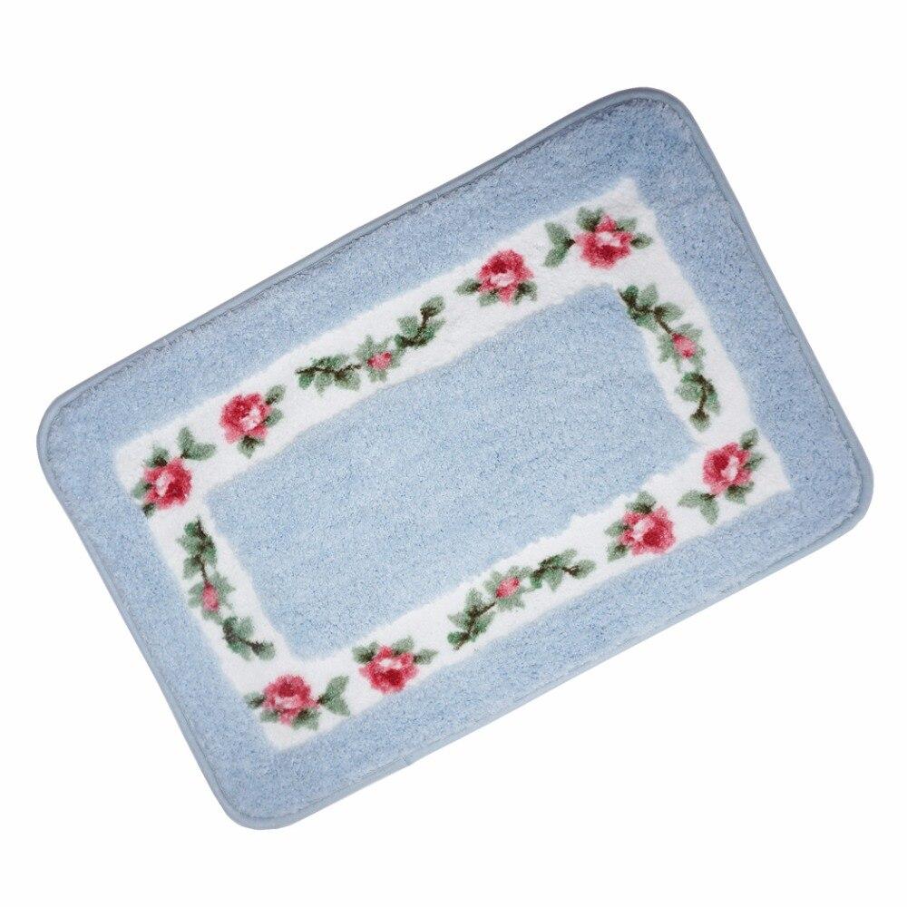 Blue bedroom door mat European style garden machin. Online Get Cheap Wash Bathroom Rug  Aliexpress com   Alibaba Group