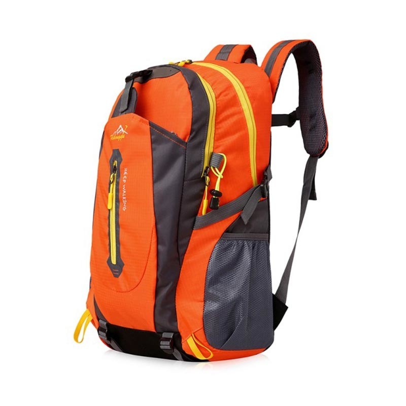 Waterproof Outdoor Climbing Backpack Men Women Camping Hiking Athletic Travel Backpack Climbing Sport Bags