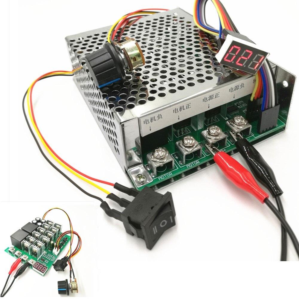 PWM speed controller DC motor Digital display 0~100% adjustable ...